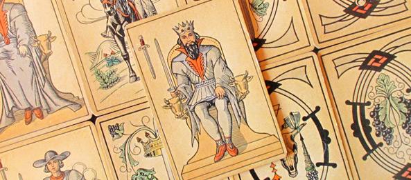 Tarot Tageskarte – König der Schwerter