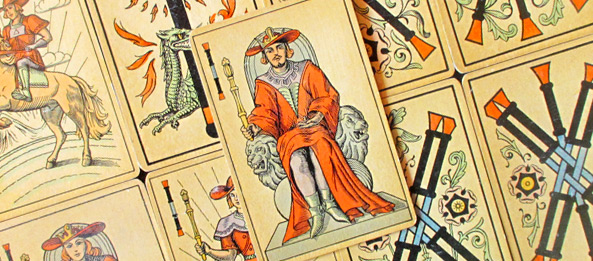 Tarot Tageskarte – König der Stäbe