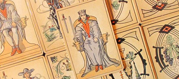 Tarot Tageskarte – Königin der Schwerter