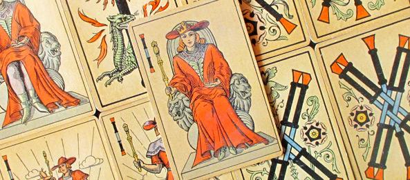 Tarot Tageskarte – Königin der Stäbe