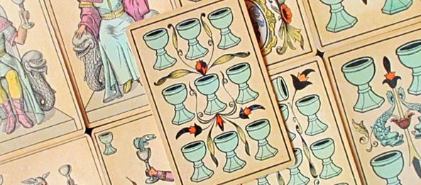 Tarot Tageskarte – 9 der Kelche