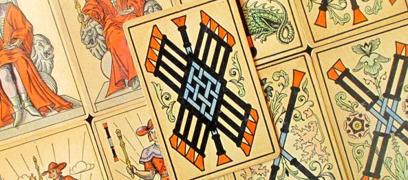 Tarot Tageskarte – 9 der Stäbe