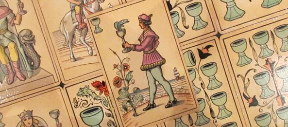 Tarot Tageskarte – Page der Kelche