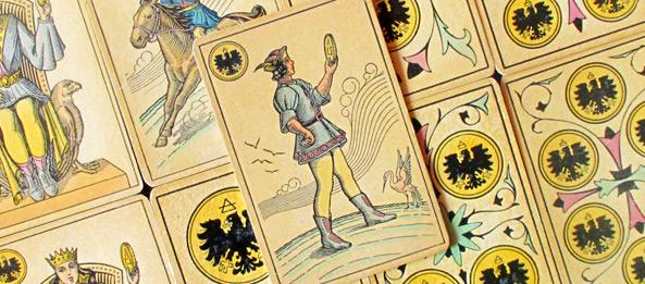 Tarot Tageskarte – Page der Münzen