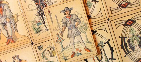 Tarot Tageskarte – Page der Schwerter