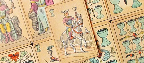Tarot Tageskarte – Ritter der Kelche