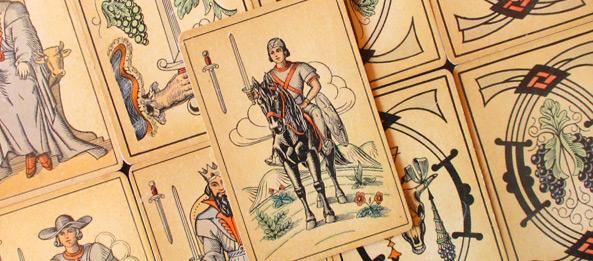 Tarot Tageskarte – Ritter der Schwerter