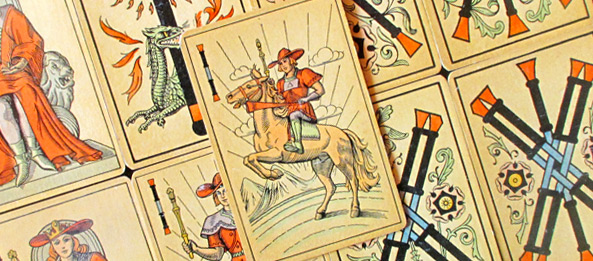 Tarot Tageskarte – Ritter der Stäbe