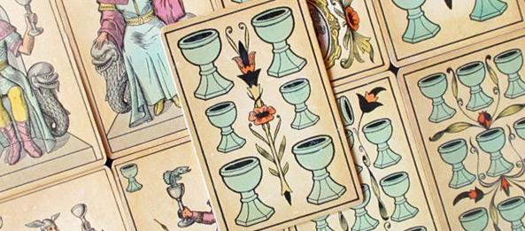 Tarot Tageskarte – 6 der Kelche