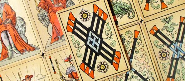 Tarot Tageskarte – 6 der Stäbe