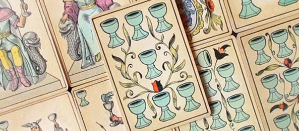 Tarot Tageskarte – 7 der Kelche