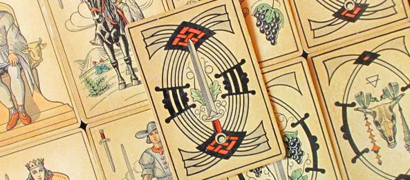Tarot Tageskarte – 7 der Schwerter