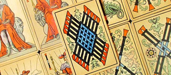 Tarot Tageskarte – 10 der Stäbe