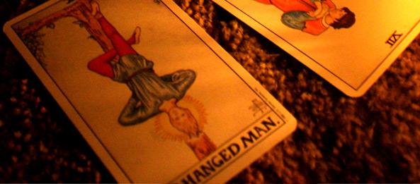 Tarotkarte – Der Gehängte