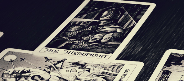 Tarotkarte – Der Hierophant