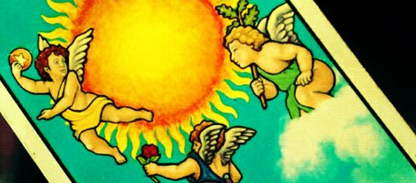 Tarotkarte – Die Sonne