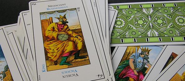 Tarotkarte – König der Münzen