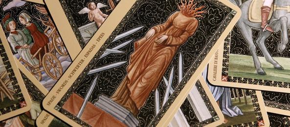 Tarotkarte – 9 der Schwerter